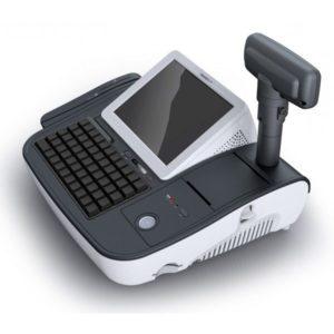 Kassensystem MiniOII von Posbank mit Kundendisplay - Vorderansicht