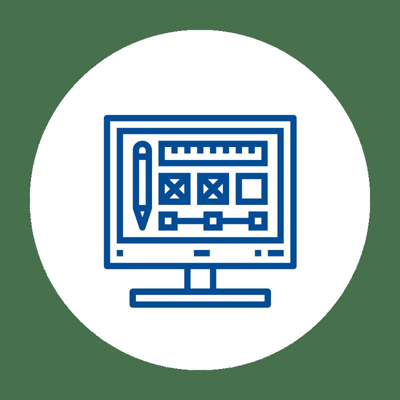 Designer Monitor icon, Software, Kassen-Software, Kassensoftware, GastroSoft
