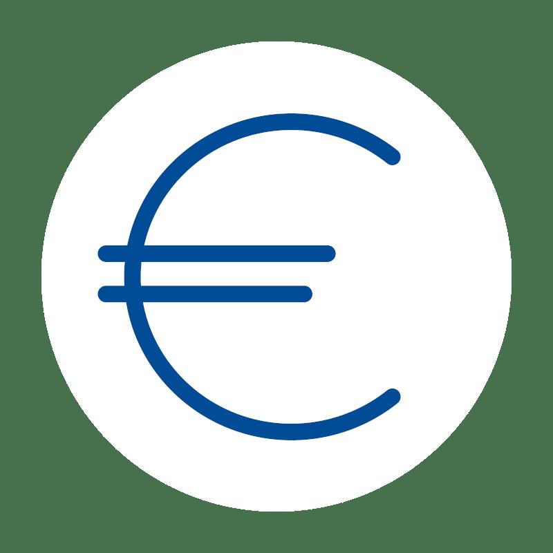 Euro icon, Software, Kassen-Software, Kassensoftware, GastroSoft