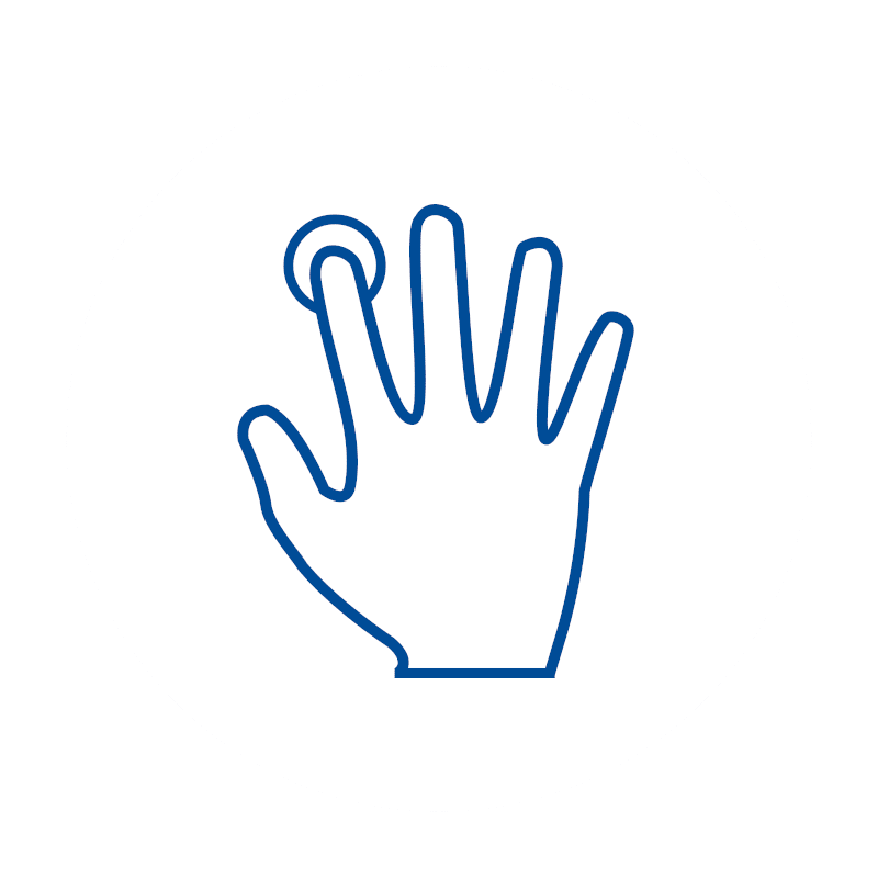 Hand, Intuitive Bedienung, Software, Kassen-Software, Kassensoftware, GastroSoft