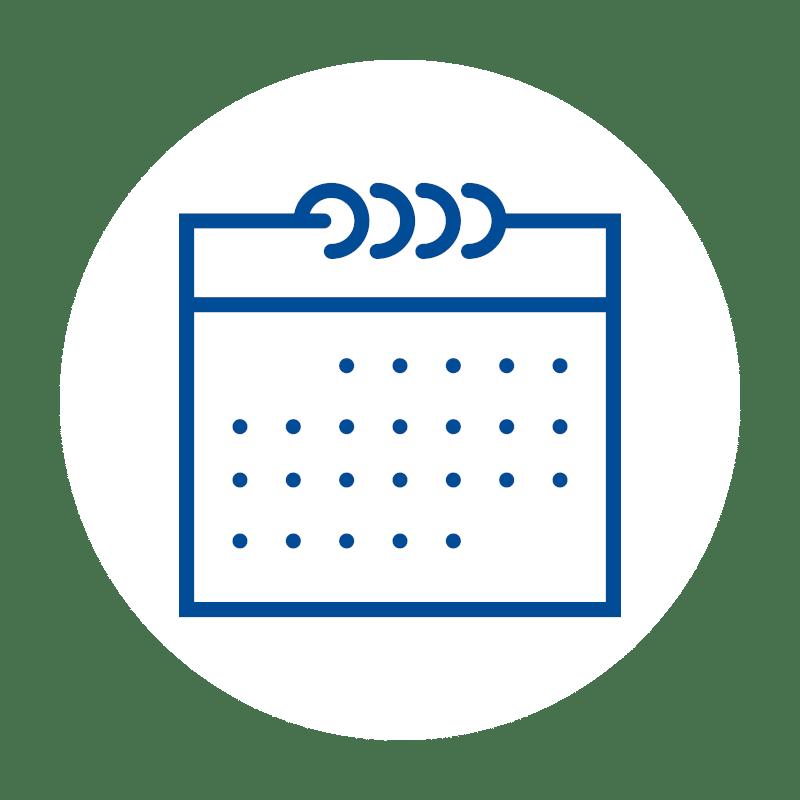 Kalender icon, Software, Kassen-Software, Kassensoftware, GastroSoft