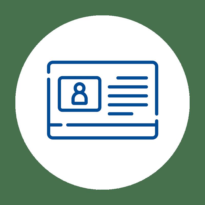 Kundenfunktion icon, Software, Kassen-Software, Kassensoftware, GastroSoft