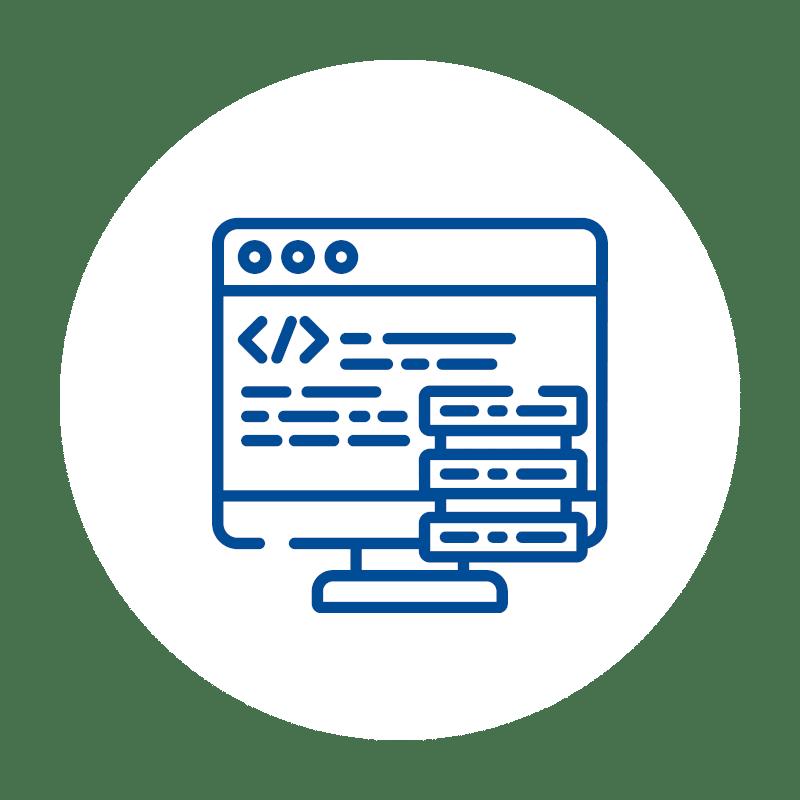 Monitor Code icon, Software, Kassen-Software, Kassensoftware, GastroSoft