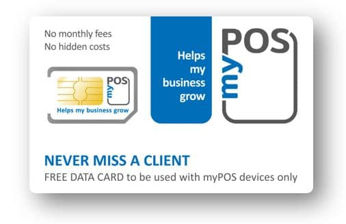 myPOS-SIM Kartet